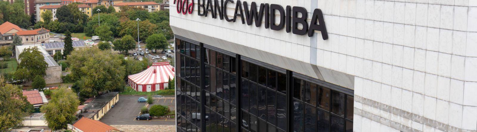 Banca Widiba, nuova brand identityCambiano logo, sito e uffici