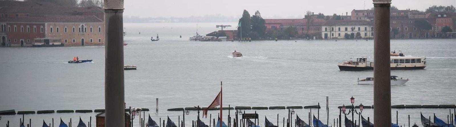 L'alluvione di questi giorni in Piazza San Marco a Venezia (credits Marco Bertorello, Afp