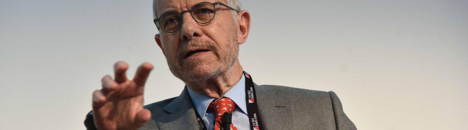 Salvatore Maccarone, presidente del Fondo interbancario