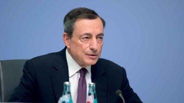 """Draghi: """"Subito le misure anti-crisi facendo più debito pubblico"""""""