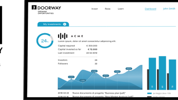 Debutta Doorway, l'equity investing online che piace a Unipol