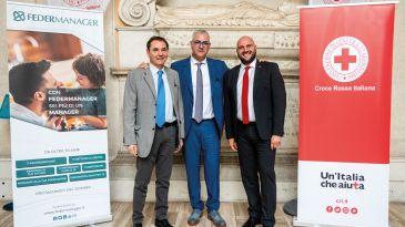 Manager e Croce Rossa uniti  per sostenere il Terzo Settore