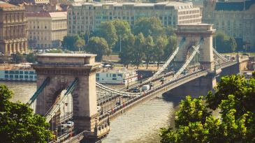 Il ponte Chain di Budapest