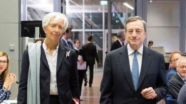 Bce: tasso sui depositi giù del 10%, invariati quelli sui rifinanziamenti