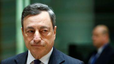 Il regalo di addio di Draghi
