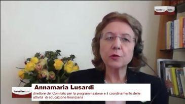 """Lusardi (Comitato per l'educazione finanziaria):  """"Troppa liquidità sui conti correnti? E' anche un problema di educazione finanziaria"""""""