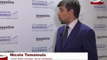 Salone del Risparmio 2021 - Nicola Tomaioulo, senior Sales manager Janus Henderson