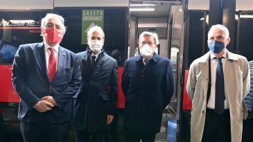 Trenitalia lancia il primo treno Covid-19 free. Battisti: primi in Europa a farlo