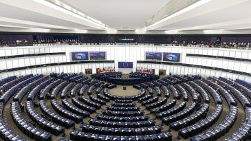 L'aula della Commissione Europea a Bruxelles