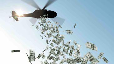 Helicopter money, solo un terzo è arrivato all'economia reale Usa