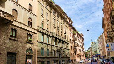 Via Visconti di Modrone a Milano